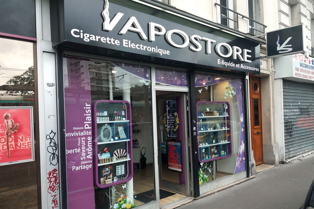 VapoStore, Magasin franchisé de e-cigarette à Paris